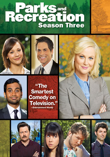 Parks and Recreation: Season Three DVD
