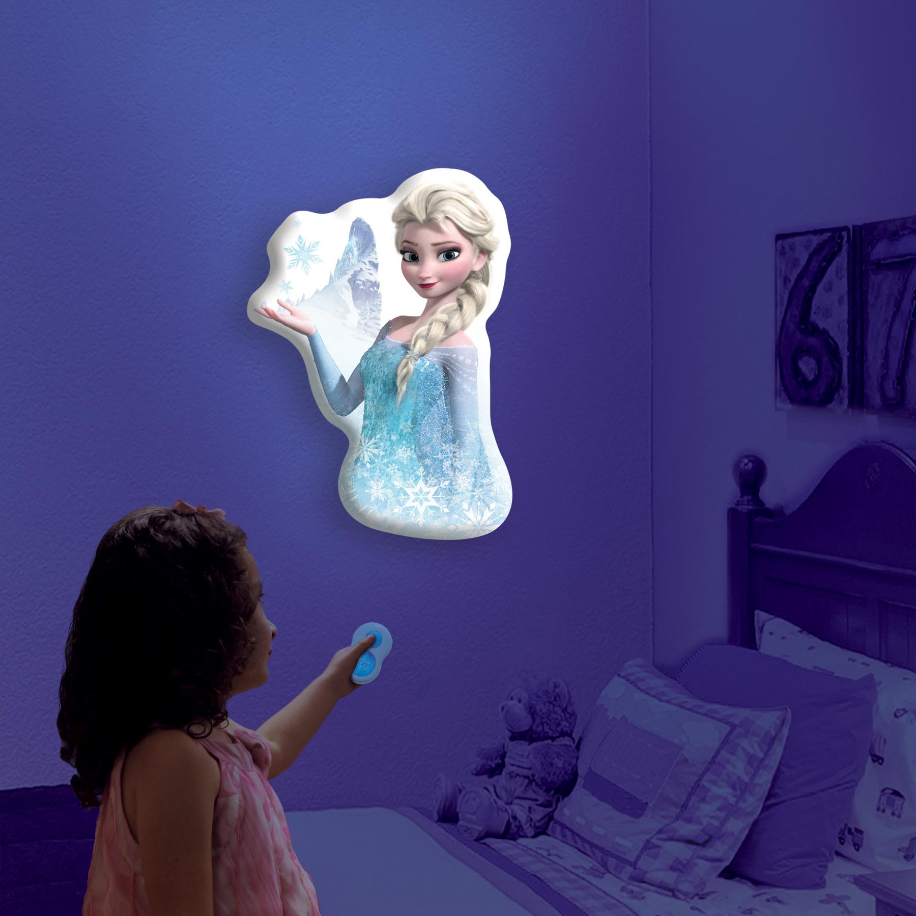 Buy frozen elsa the snow queen talking wall light room for Room design elsa